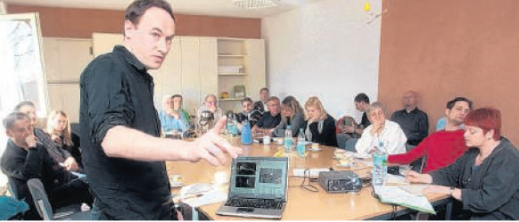 Workshop in Frohburg (Foto: J.Taubert, LVZ)